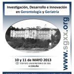 Imagen del Póster representativo del XXV Congreso Internacional de la SGXX. 10 y 11 Mayo 2013 A Coruña.. Edificio Universitario de Oza.