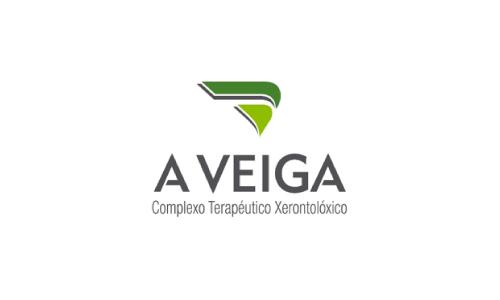XXVIII Congreso internacional de la Sociedade Galega de Xerontoloxía e Xeriatria - logo patrocinador A Veiga