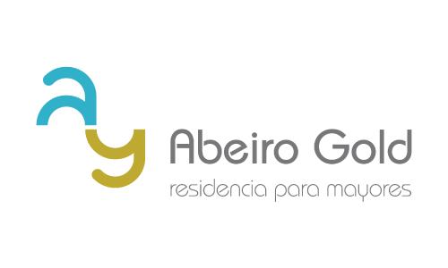 XXVIII Congreso internacional de la Sociedade Galega de Xerontoloxía e Xeriatria - logo patrocinador Abeiro Gold