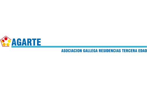 XXVIII Congreso Internacional de la Sociedade Galega de Xerontoloxía e Xeriatria - logo patrocinador Agarte