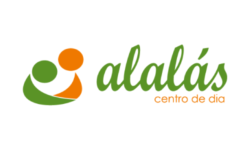 XXVIII Congreso internacional de la Sociedade Galega de Xerontoloxía e Xeriatria - logo patrocinador Alalas