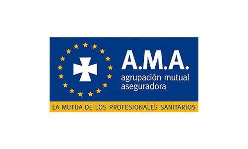XXVIII Congreso internacional de la Sociedade Galega de Xerontoloxía e Xeriatria - logo patrocinador AMA