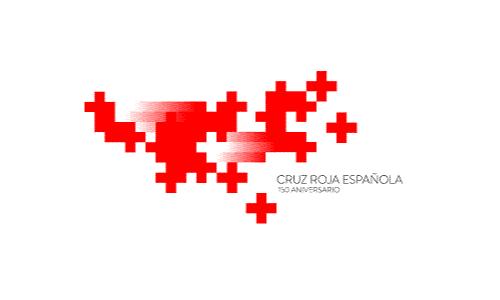 XXVIII Congreso internacional de la Sociedade Galega de Xerontoloxía e Xeriatria - logo patrocinador Cruz Roja
