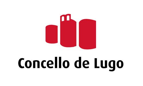 XXVIII Congreso internacional de la Sociedade Galega de Xerontoloxía e Xeriatria - logo patrocinador Concello de Lugo