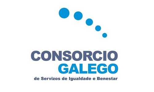 XXVIII Congreso internacional de la Sociedade Galega de Xerontoloxía e Xeriatria - logo patrocinador Consorcio Galego