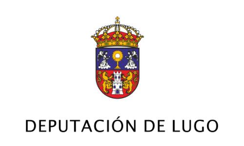 XXVIII Congreso internacional de la Sociedade Galega de Xerontoloxía e Xeriatria - logo patrocinador Deputación de Lugo