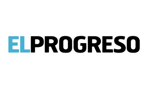 XXVIII Congreso internacional de la Sociedade Galega de Xerontoloxía e Xeriatria - logo patrocinador El Progreso