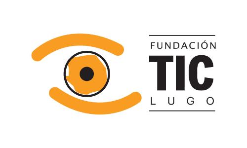 XXVIII Congreso internacional de la Sociedade Galega de Xerontoloxía e Xeriatria - logo patrocinador Fundación TIC Lugo