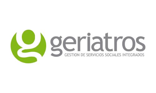 XXVIII Congreso internacional de la Sociedade Galega de Xerontoloxía e Xeriatria - logo patrocinador Geriatros