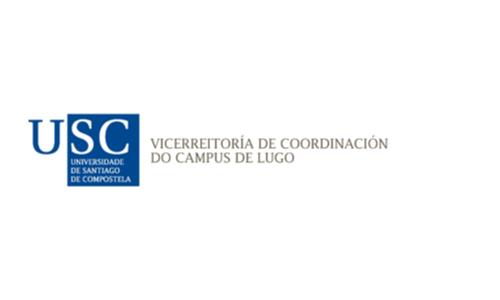 XXVIII Congreso internacional de la Sociedade Galega de Xerontoloxía e Xeriatria - logo patrocinador Universidade Santiago de Compostela