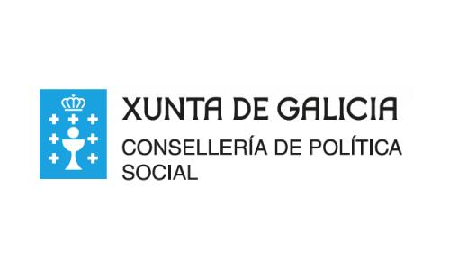 XXVIII Congreso internacional de la Sociedade Galega de Xerontoloxía e Xeriatria - logo patrocinador Xunta de Galicia